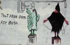 Graffiti on a wall in Iraq
