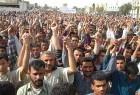 Shias protest in Nasiriyah against Americans.