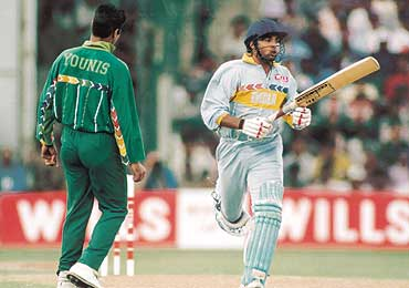 india vs pak 1996 wc