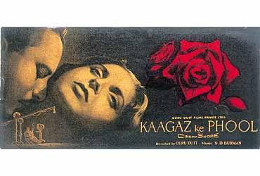 Image result for Kaaghaz Ke Phool (1959)