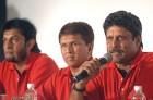 Kapil Dev, Kiran More & Sandeep Patil announce names of ICL players, Aug 2007