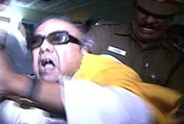 Karunanidhi Arrested