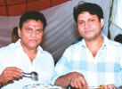 Dr Amit Kumar with brother Dr Jeevan Kumar in better times