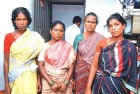 <b>Shortchanged: L to R, Kasthuri, Kala, Ammini and Bhuvaneshwari who gave their kidneys but weren't paid the promised sum</b>