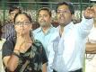 Say no evil: Modi and Vasundhararaje at an IPL match at the Sawai Mansingh Stadium