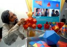 Working at play: L.K. Das, head of the IIT Delhi design centre, with toys they've designed