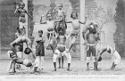 London 1908: Acrobats at the Ceylon village