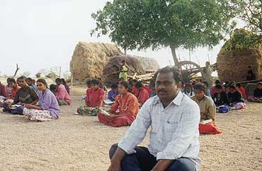 A long-gone Dalit patriarch's shade shelters some 4,500 kids