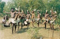 The martial dance of the Bhumij still survives in a little outback