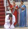 Rajapaksa hails his motherland after returning from Jordan