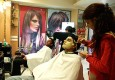 Fop's paradise: Parul beauty parlour in Jaipur, where many a primp-smart man colours, teases or perms his hair