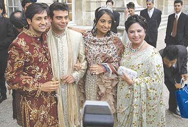 Indian Wedding The Of L N Mittal S Daughter Made Front Page News In Most Newspapers Europe