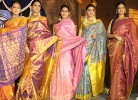 Yore's truly: Purists would scoff at the bastardisation of the traditional sari