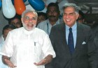 Happy days: Modi, Ratan Tata after the MoU signing