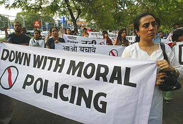 Self-Appointed Moral Police
