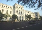 Gloom show: The imposing Indian Museum in Calcutta