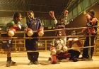 Women boxers in the ring