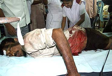One of the survivors of Nandigram
