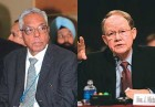 M.K. Narayanan - Did some plainspeaking; Mike McConnell - Offers a