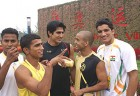 Fists of Glory: The Indian boxing team at a training camp organised by the Mittal Champions Trust