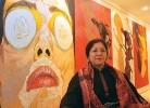 Space maker: Rakhi Sarkar at a gallery