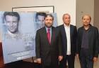 Filmmaker Ramesh Sharma, co-director Ahmed Jamal, producer Anant Singh