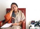 Blocked Renuka Chowdhury in her office