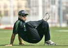 All stretched out: Ricky Ponting