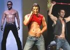 Got the lowdown: Saif Ali Khan, John Abraham and Arjun Rampal primp in the modish washboard & low-waist style