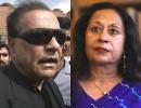 Pater Unfamilias: Salman Taseer (left) and Tavleen Singh