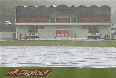Rain Frustrates India