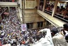 Protests in Calcutta, against the SC judgement.