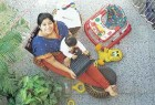Hands Full: Shivani, mother for seven months, wants to live both her lives - to the full.
