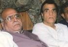 Suresh Nanda, right, with UP BJP politician Lalji Tandon