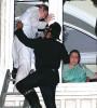 Taj guests being rescued by firemen