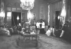 A party is on in the drawing room of J.R.D. Tata's Bombay residence in '62 <a href=