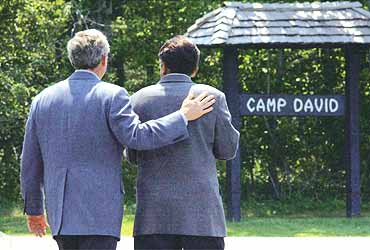 Bush And His Buddy
