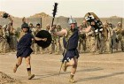 US Soldiers re-enact <i>Ben Hur</i> prior to Fallujah assault