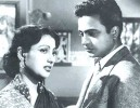 Over all: Uttam, Suchitra in <i>Shabar Upare</i>