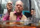 Work in progress: Talwar at his Delhi lab