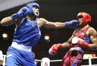 Vijender Kumar hits the sweet spot in one of his early matches