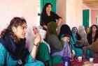 Vrinda Dar (left) in Afghanistan's Badakshan province