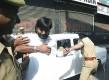 Strong-armed: JKLF leader Yasin Malik being arrested