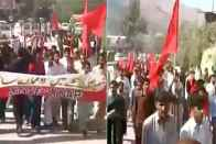 Protests In PoK Against Illegal Detention Of Political Leaders