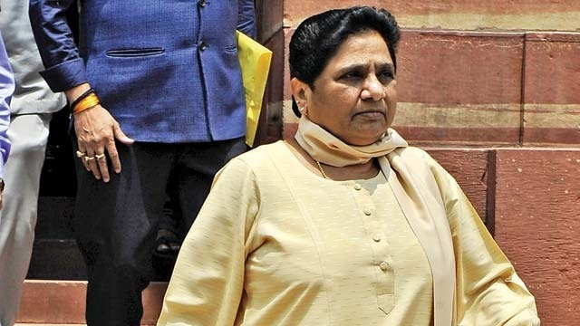Mixed Response Among Parties To Mayawati's Resignation From Rajya Sabha