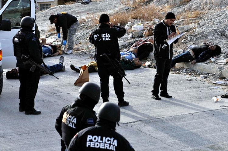 violence in mexico