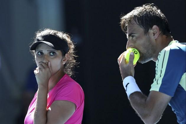 Sania Mirza, Ivan Dodig End Runner-Up at Australian Open