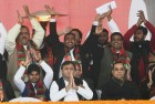 Akhilesh Releases SP Manifesto, Mulayam, Shivpal Skip Event