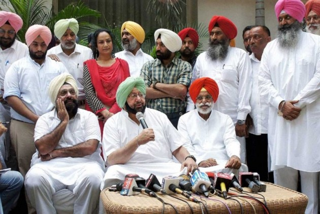 Punjab polls: Several AAP, SAD members join Congress