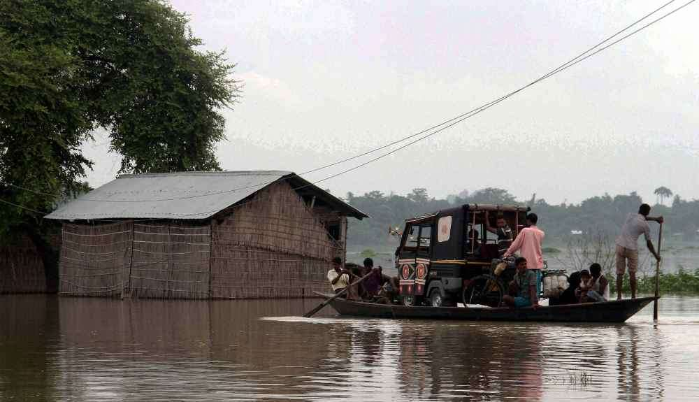 Assam Flood Situation Grim, Rise in Water Level Alarming